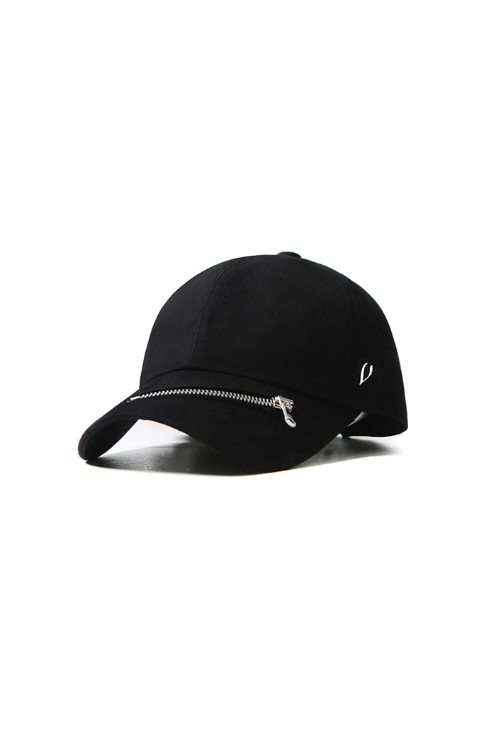 VIBRATEKIDS - ZIPPER BALL CAP (BLACK)