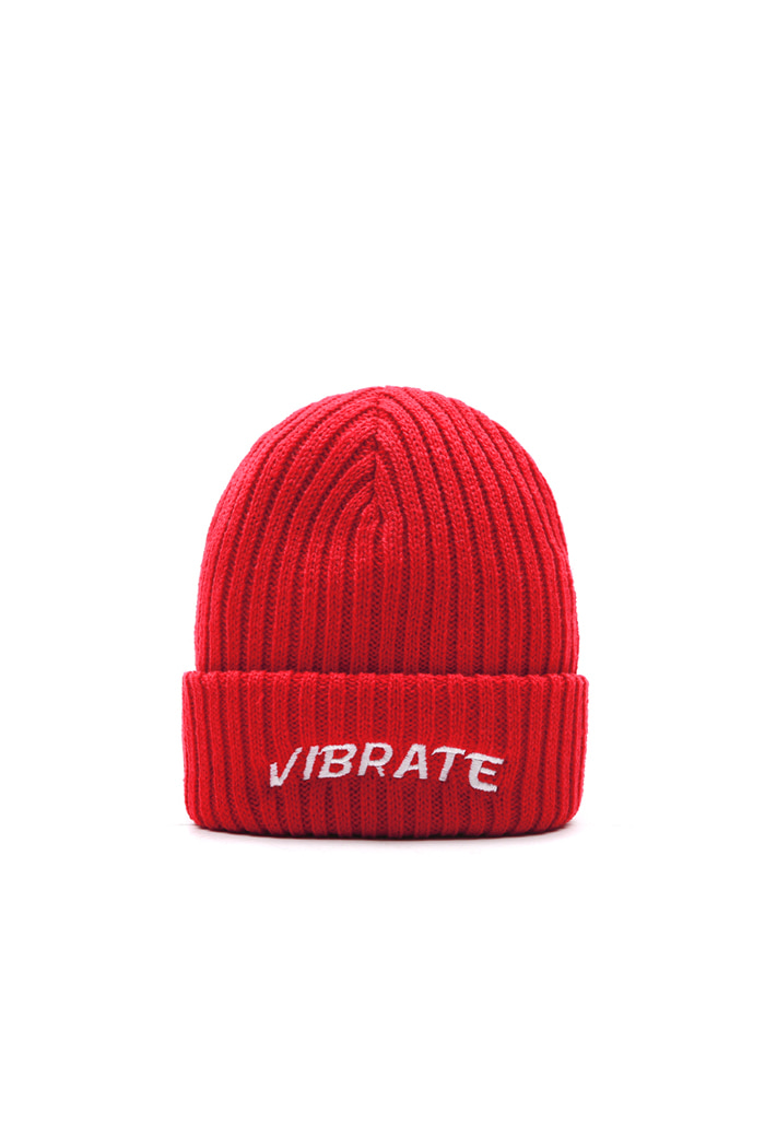 VIBRATEKIDS - SIGNATURE BEANIE (RED)