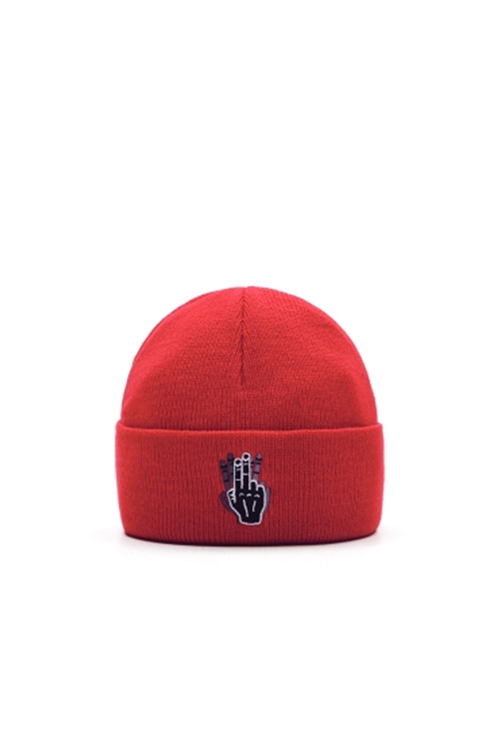 VIBRATEKIDS - BASIC BEANIE NO.1 (RED)