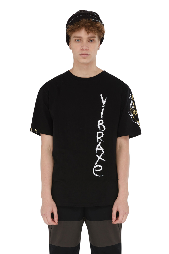 GRAFFITI T-SHIRT (BLACK)