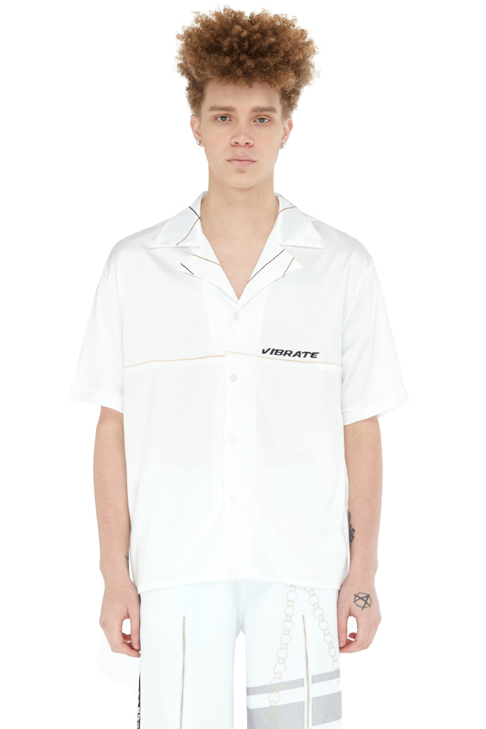 GOLDLINE BASIC SILK SHIRT (WHITE)